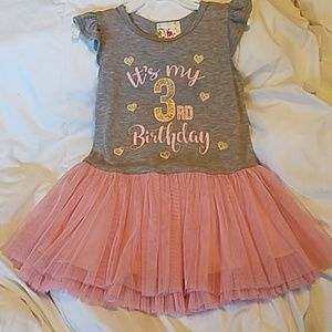 Tutu Birthday dress